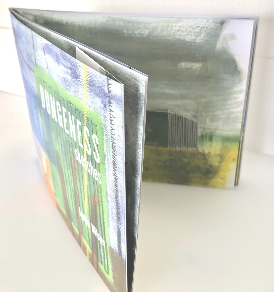 Dungeness Sketchbook - 9 double spread images plus cover