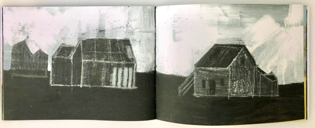 Dungeness sketchbook pages 8 and 9