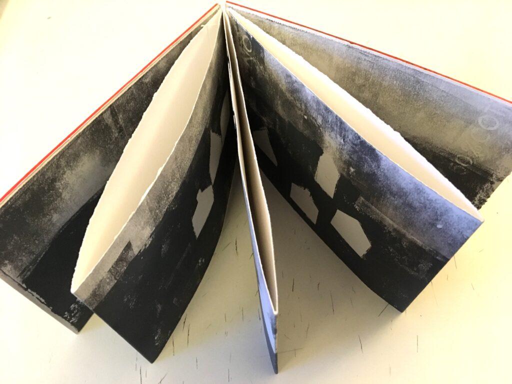 Night Shingle artist book