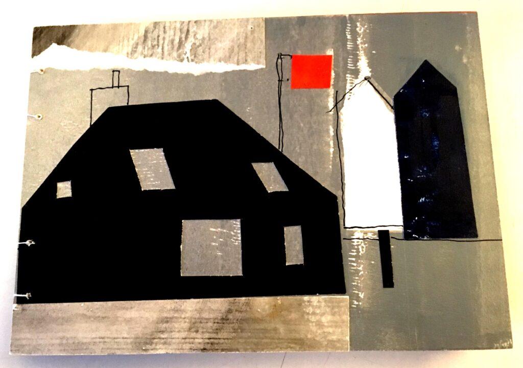 Night Shingle artist book - cover