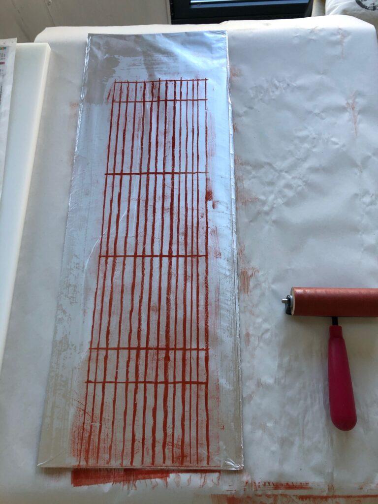A kitchen litho plate